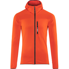 adidas TERREX TraceRocker Hooded Fleece Jacket Men active orange
